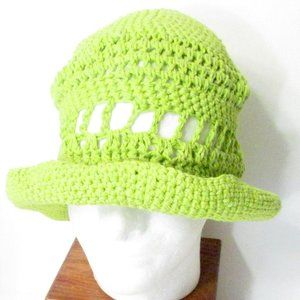 InfiniteElaine Accessories - NEW Light Cotton Handmade Sun Hat NWT